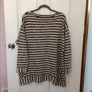 Soft Surroundings 100% cotton pullover tunic 3x